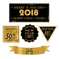 New Yea, Christmas sale. Big sale discount icons Royalty Free Stock Photo
