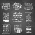 Collection of quote typographical background about dance and ballet .