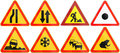 Collection of road signs used in Belarus