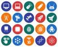 Hi-Tech icons set