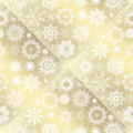 Collection of snowflakes set illustration Royalty Free Stock Photography