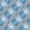 Collection of snowflakes set illustration Stock Photos