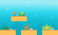 Collection stock underwater game background