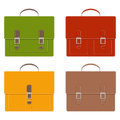 Collection of stylish multi-colored men s leather portfolios with pockets and without, with buckles, with white contrast stitching