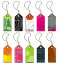 Collection of tags and sticker Royalty Free Stock Photography