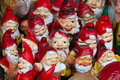 Collection of toy dwarfs Royalty Free Stock Photos