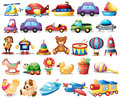 Collection of toys Royalty Free Stock Photo
