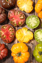 Collection variety of tomato Royalty Free Stock Photo