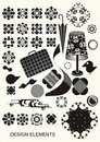 Collection of vector  elements Royalty Free Stock Image