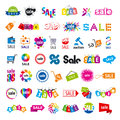 Collection of vector logos sale biggest Stock Photography
