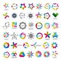 Collection of vector logos Union