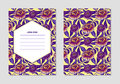 Collection of vector patterns with patterns. Abstract exotic tropical leaf and flowers background. Perfect for