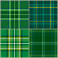 Collection of vector st. patrick's backgrounds Royalty Free Stock Photo
