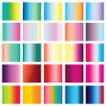 Collection of 25 vertical colorful gradients.