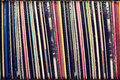 Collection of vinyl records covers (dummy titles) Royalty Free Stock Photo