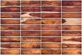 Collection of wood texture background set on white background Royalty Free Stock Photo