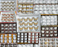 Collections of arabian cups in many groups Stock Images
