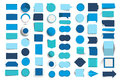 Collections of infographics design buttons, elements. Royalty Free Stock Photo