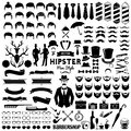 Collections set of Vintage styled design hipster icons