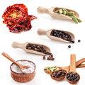 Collections of spice Stock Images
