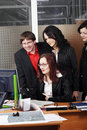 Collective work Royalty Free Stock Photo