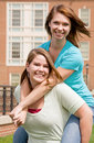 College Girls Royalty Free Stock Photos