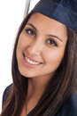 College graduate close up Royalty Free Stock Photo