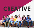 College Student Start up Ideas Creative Concept Royalty Free Stock Photo