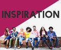 College Student Start up Inspiration Concept Royalty Free Stock Photo