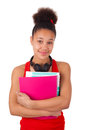 College student young african american isolated Stock Photo