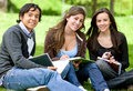 College or university students Stock Photography