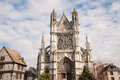 Collegiale Notre-Dame Royalty Free Stock Photos
