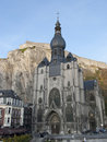 Collegiate church Dinant Royalty Free Stock Image
