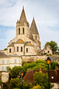 Collegiate Church of St. Ours Royalty Free Stock Photo
