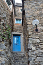 Colletta di castelbianco ancient italian village Royalty Free Stock Photos