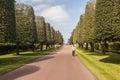 Colleville frankreich april tourist auf amerikaner Stockbild