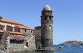 Collioure in the Vermilion coast, France Stock Photo