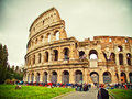 Colloseum, Rom Stockbild
