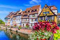Colmar, Alsace, France. Royalty Free Stock Photo