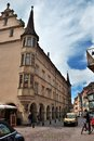 Colmar alsace haut rhin france exterior of the old city Stock Photos