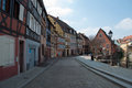 Colmar france is the third largest commune of the alsace region in north eastern it is the seat of the prefecture of the haut rhin Royalty Free Stock Photos