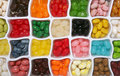 Colofrul Jelly Candy Backgroun Stock Image