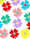 Coloful flower background colorful for your design Royalty Free Stock Image