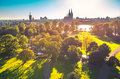 Cologne from above Royalty Free Stock Photo