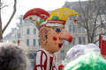 Cologne carneval people background some Royalty Free Stock Images