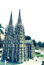 The cologne cathedral is a landmark of germany Royalty Free Stock Photography