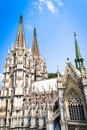 The cologne cathedral is a landmark of germany Royalty Free Stock Photo