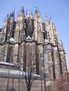 Cologne cathedral is one of the well known architectural monuments in germany and has been cologne s koln s most famous landmark Royalty Free Stock Images
