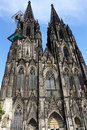 Cologne cathedral is a roman catholic church in germany Stock Image