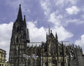 Cologne Cathedral South View Stock Photography